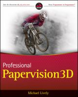 Cover image for Professional Papervision3D