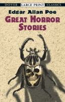 Cover image for Great horror stories