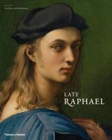 Cover image for Late Raphael