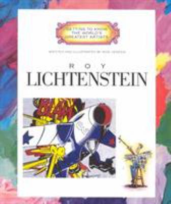 Cover image for Roy Lichtenstein
