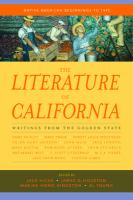 Cover image for The literature of California