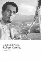 Cover image for The collected poems of Robert Creeley