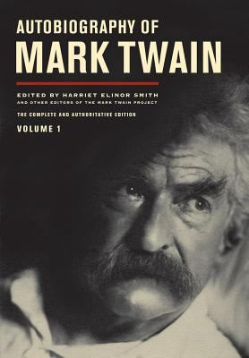 Cover image for Autobiography of Mark Twain