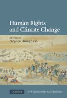 Cover image for Human rights and climate change