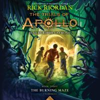 Cover image for The burning maze