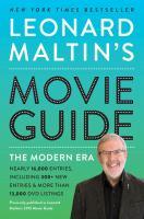 Cover image for Leonard Maltin's movie guide : the modern era