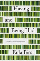 Cover image for Having and being had
