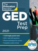 Cover image for GED test prep