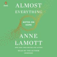 Cover image for Almost everything notes on hope.