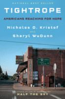 Cover image for Tightrope : Americans reaching for hope