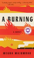 Cover image for A burning