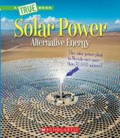 Cover image for Solar power : capturing the sun's energy