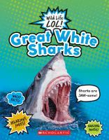 Cover image for Great white sharks.