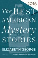 Cover image for The best American mystery stories 2016
