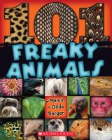 Cover image for 101 freaky animals