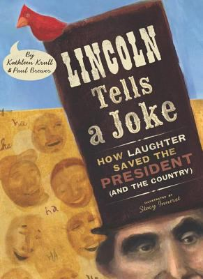 Cover image for Lincoln tells a joke how laughter saved the president (and the country)