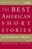 Cover image for The best American short stories 2013