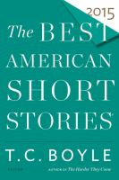Cover image for The best American short stories 2015
