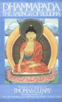 Cover image for The Dhammapada : sayings of Buddha : translated from the original Pali