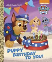 Cover image for Puppy birthday to you!