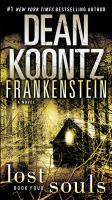 Cover image for Frankenstein lost souls