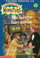 Cover image for The Hauntlys' hairy surprise
