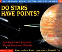 Imagen de portada para Do stars have points? : questions and answers about stars and planets