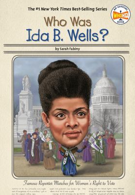 Cover image for Who was Ida B. Wells?