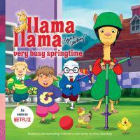 Cover image for Llama Llama very busy springtime!
