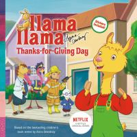 Cover image for Llama Llama : thanks-for-giving day