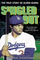 Cover image for Singled out : the true story of Glenn Burke
