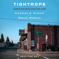 Cover image for Tightrope Americans reaching for hope