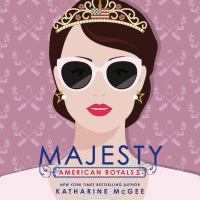 Cover image for Majesty American royals series, book 2