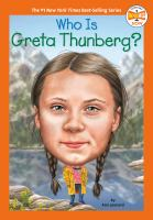 Cover image for Who is Greta Thunberg?