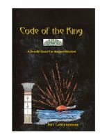 Cover image for Code of the king : a deadly search for ancient wisdom