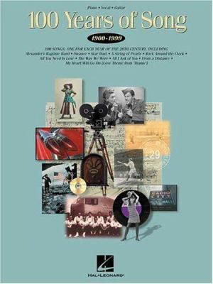 Cover image for 100 years of song, 1900-1999.
