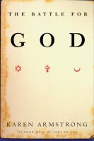 Cover image for The battle for God