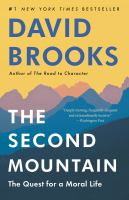 Cover image for The second mountain the quest for a moral life.