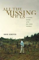 Cover image for All the missing souls a personal history of the war crimes tribunals