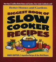 Cover image for Biggest book of slow cooker recipes.