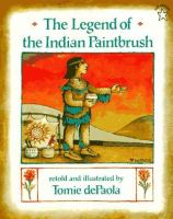 Cover image for The legend of the Indian paintbrush