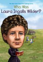 Cover image for Who was Laura Ingalls Wilder?