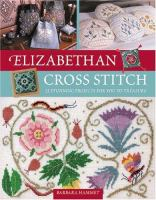 Cover image for Elizabethan cross stitch