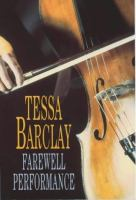 Cover image for Farewell performance
