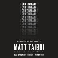 Cover image for I can't breathe
