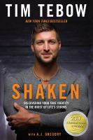 Cover image for Shaken discovering your true identity in the midst of life's storms.