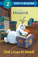 Cover image for Olaf loves to read!