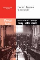 Cover image for Political issues in J.K. Rowling's Harry Potter series