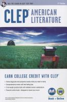 Cover image for CLEP American literature
