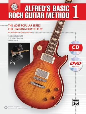 Cover image for Alfred's basic rock guitar method